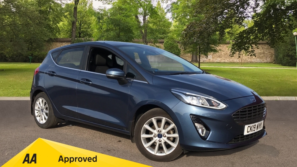 Ford Fiesta 1.0 EcoBoost Titanium 5dr with Navigation and Cruise Control Hatchback (2019)