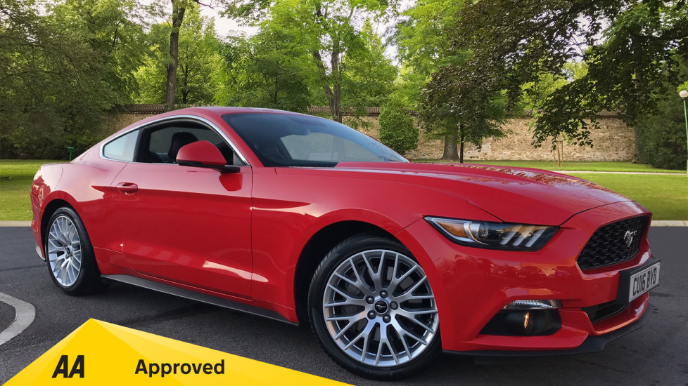 Ford Mustang 2.3 EcoBoost 2dr 3 door Coupe (2016)