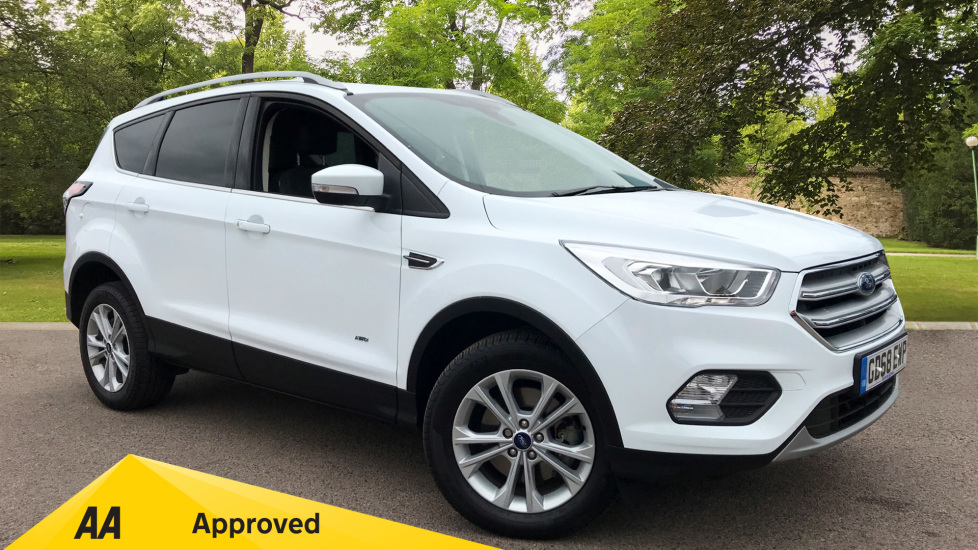 Ford Kuga 2.0 TDCi 180 Titanium [Nav] Diesel Automatic 5 door MPV (2019) at Ford Thanet thumbnail image