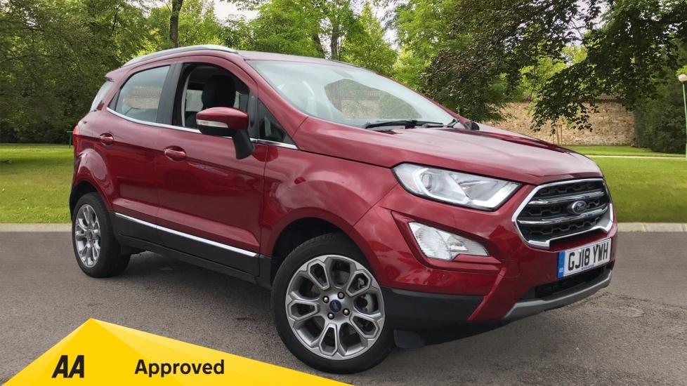 Ford EcoSport 1.0 EcoBoost 125 Titanium 5dr Hatchback (2018)