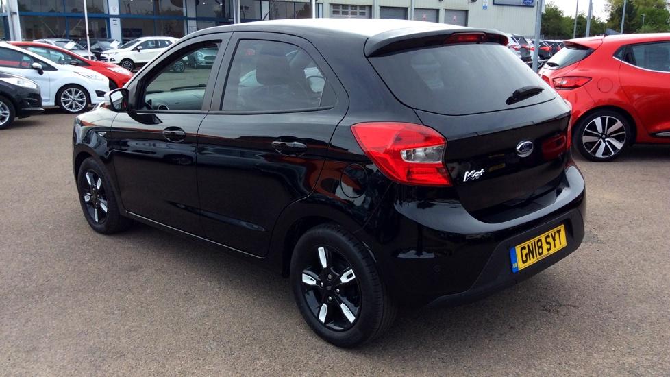 Ford Ka Zetec Black Edition Hatchback Petrol In Black