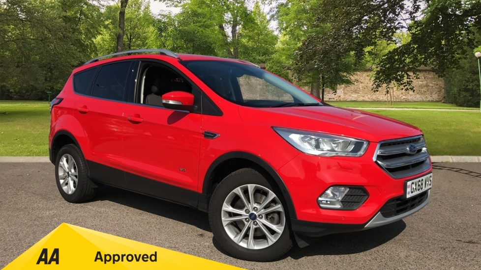 Ford Kuga 1.5 EcoBoost 176 Titanium Auto Automatic 5 door MPV (2018) available from Doves Vauxhall Southampton thumbnail image