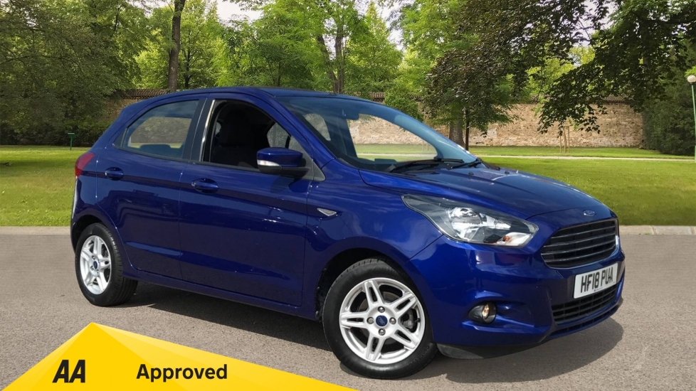 Ford KA Plus 1.2 Zetec 5dr with Cruise Control and Bluetooth Hatchback (2018)