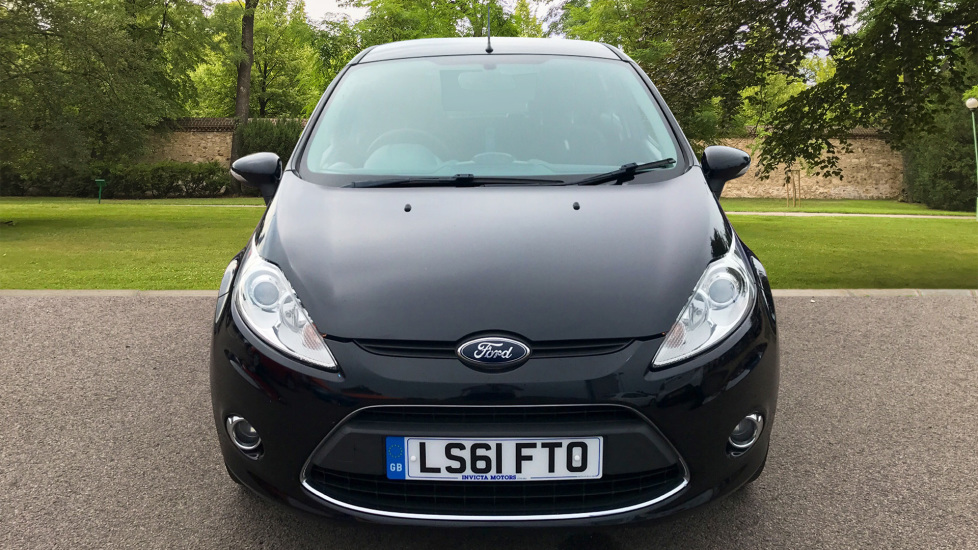 Ford Fiesta 1 4 Zetec Automatic 5 Door Hatchback 2011 Available From Ford Canterbury
