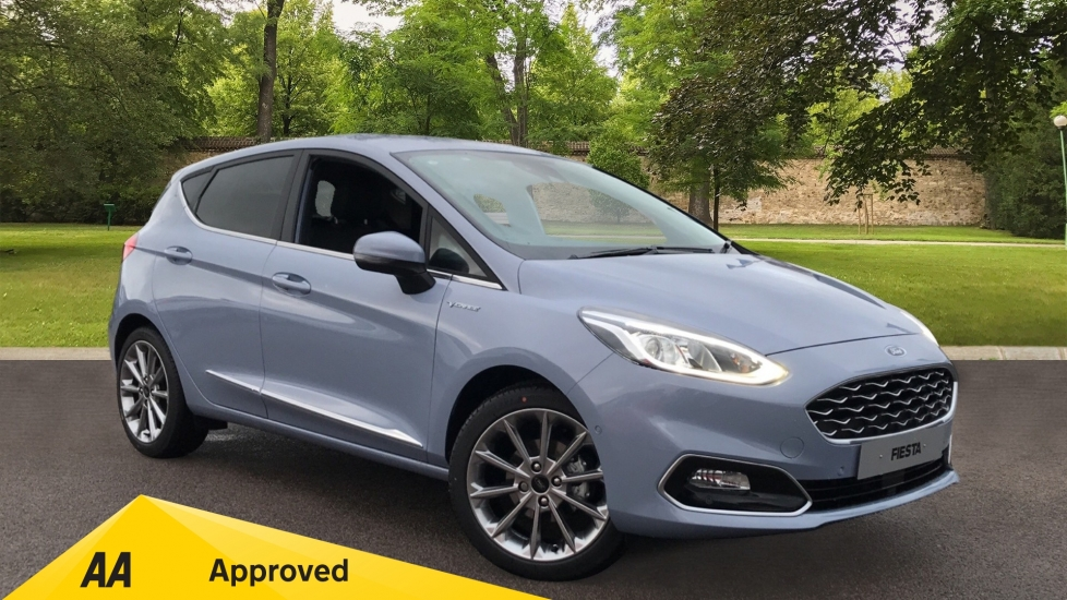 Ford Fiesta 1.0 EcoBoost Hybrid mHEV 125 Vignale Edition 5dr with Reverse Camera and Heated Seats Hatchback (2021)