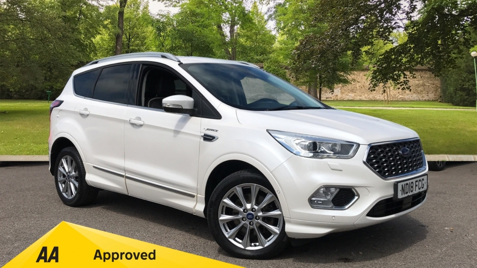 Ford Kuga 2.0 TDCi Vignale 180 5dr with Heated Seats and Rear Camera Diesel Estate (2018)