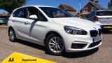 BMW 2 SERIES 218I SE ACTIVE TOURER HATCHBACK, PETROL, in WHITE, 2014 - image 0