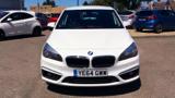 BMW 2 SERIES 218I SE ACTIVE TOURER HATCHBACK, PETROL, in WHITE, 2014 - image 1