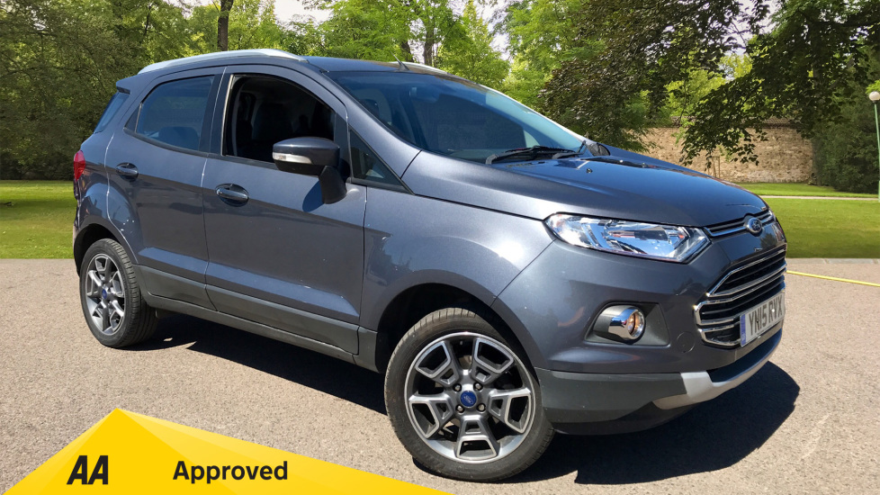 Ford EcoSport 1.0 EcoBoost Titanium [X Pack] 5 door Hatchback (2015)