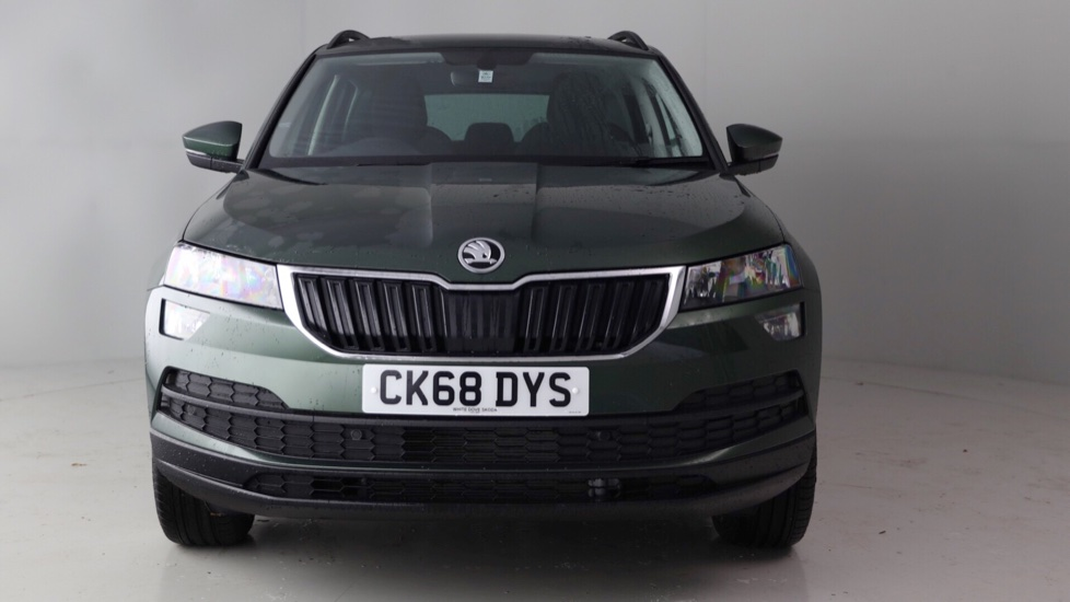 skoda karoq 1 0 tsi se nav plus 18 395 cardiff white dove. Black Bedroom Furniture Sets. Home Design Ideas
