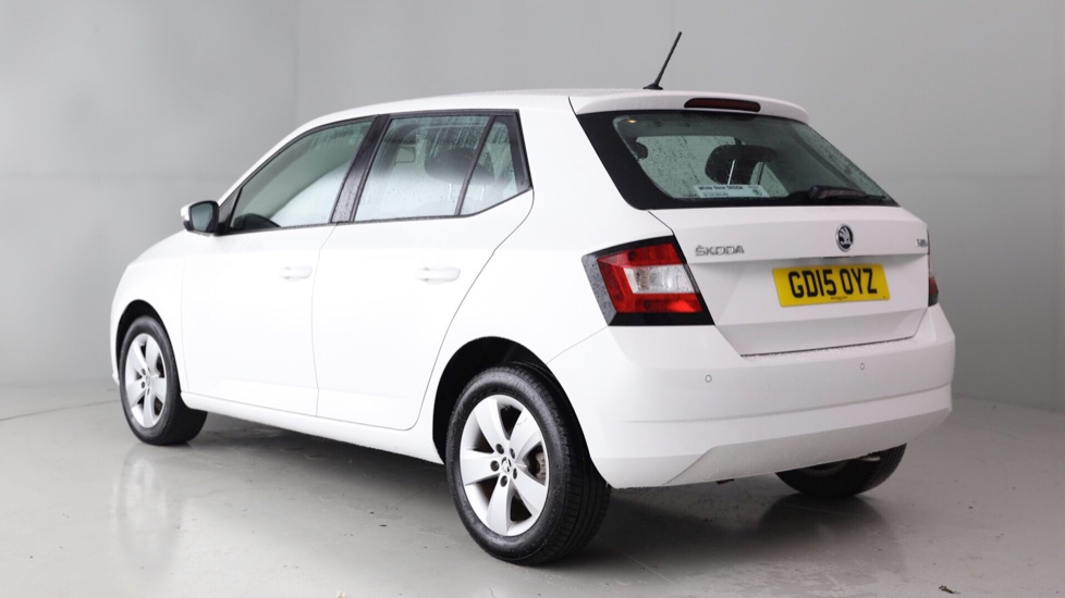 skoda fabia hatchback 1 2 tsi se 7 995 cardiff white dove. Black Bedroom Furniture Sets. Home Design Ideas