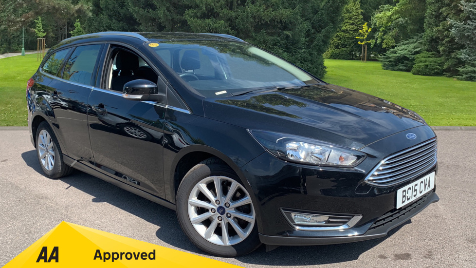 Ford Focus 1.6 125 Titanium 5dr Powershift Automatic Estate (2015) image