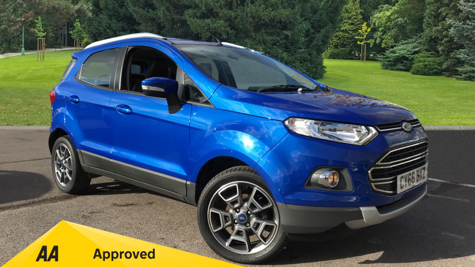 Ford EcoSport 1.0 EcoBoost Titanium 5dr [17in] Hatchback (2016)