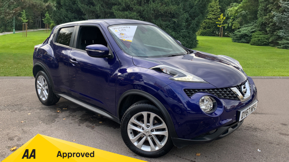 Nissan Juke 1.6 N-Connecta Xtronic Automatic 5 door Hatchback (2017) image