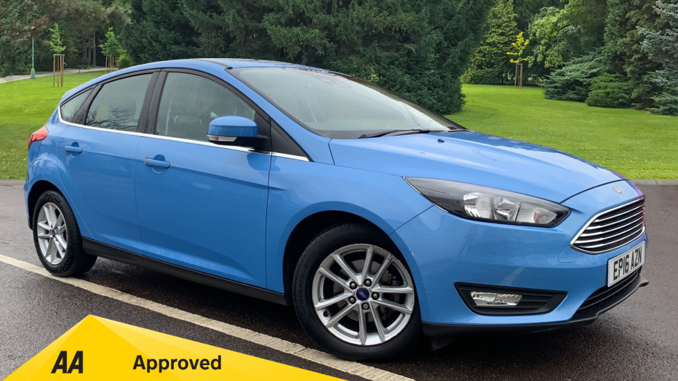 Ford Focus 1.0 EcoBoost 125 Zetec Automatic 5 door Hatchback (2016) image
