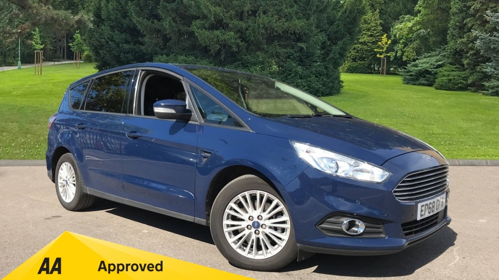 Ford S-MAX 2.0 EcoBlue 150 Zetec 5dr [8 Speed] Diesel Automatic MPV (2019) at Ford Wimbledon thumbnail image