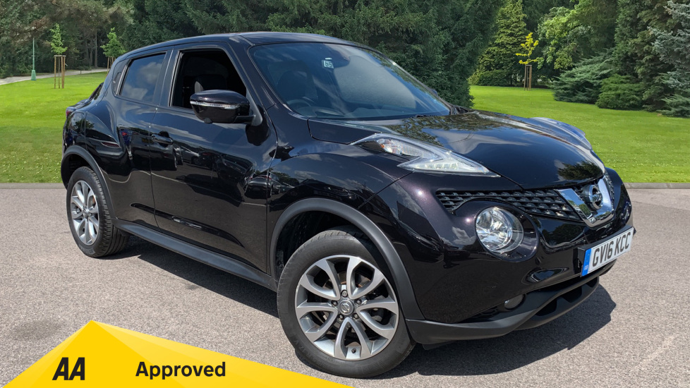 Nissan Juke 1.6 Tekna Xtronic Automatic 5 door Hatchback (2016) available from County Motor Works Vauxhall thumbnail image