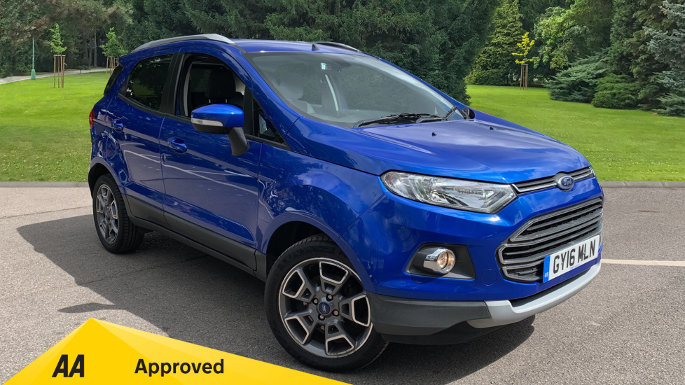 Ford EcoSport 1.5 Titanium Powershift Automatic 5 door Hatchback (2016) image