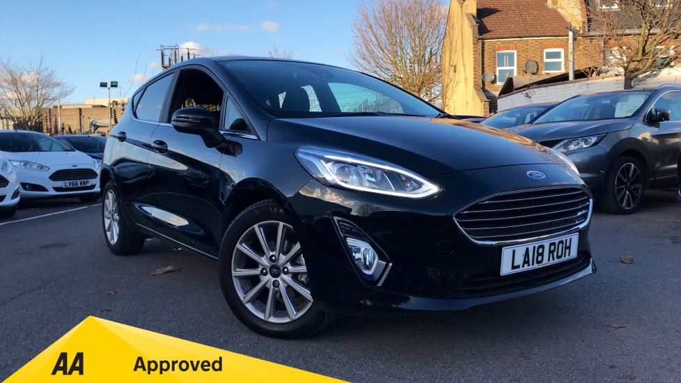 Ford Fiesta 1.0 EcoBoost Titanium Automatic 5 door Hatchback (2018) at Ford Wimbledon thumbnail image