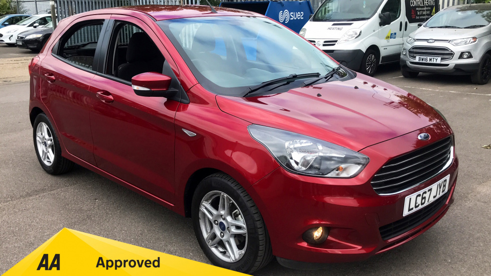 Ford KA Plus 1.2 Zetec 5dr Hatchback (2018) at Ford Wimbledon thumbnail image