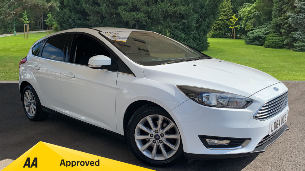 Ford Focus 1.6 125 Titanium Powershift Automatic 5 door Hatchback (2014) image
