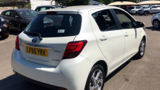 TOYOTA YARIS HYBRID EXCEL HATCHBACK, PETROL/ELECTRIC, in WHITE, 2015 - image 3