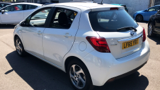 TOYOTA YARIS HYBRID EXCEL HATCHBACK, PETROL/ELECTRIC, in WHITE, 2015 - image 5