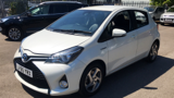 TOYOTA YARIS HYBRID EXCEL HATCHBACK, PETROL/ELECTRIC, in WHITE, 2015 - image 8