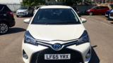 TOYOTA YARIS HYBRID EXCEL HATCHBACK, PETROL/ELECTRIC, in WHITE, 2015 - image 9