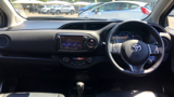 TOYOTA YARIS HYBRID EXCEL HATCHBACK, PETROL/ELECTRIC, in WHITE, 2015 - image 13