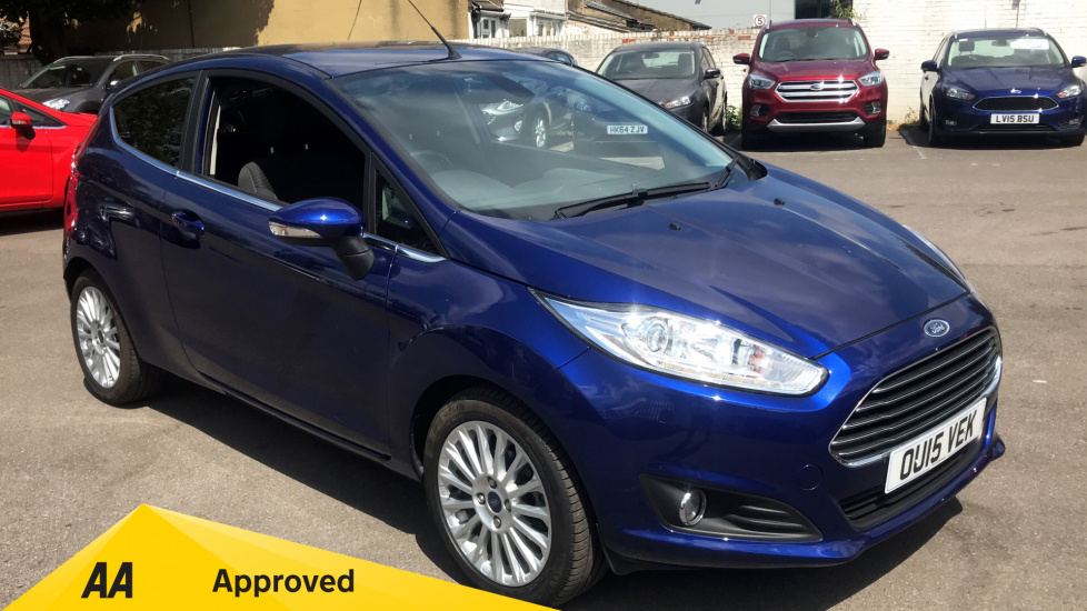 Ford Fiesta 1.6 Titanium Powershift Automatic 3 door Hatchback (2015) image