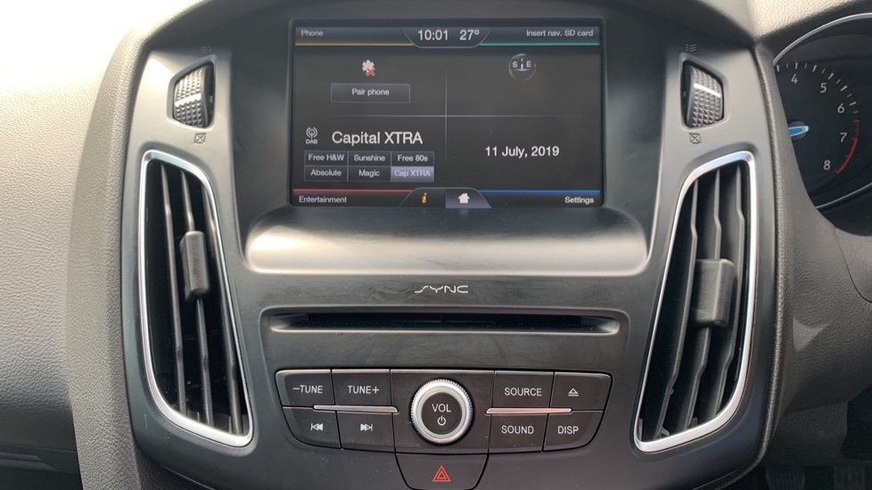 Ford Focus 1.0 EcoBoost 125 Zetec 5dr image 15