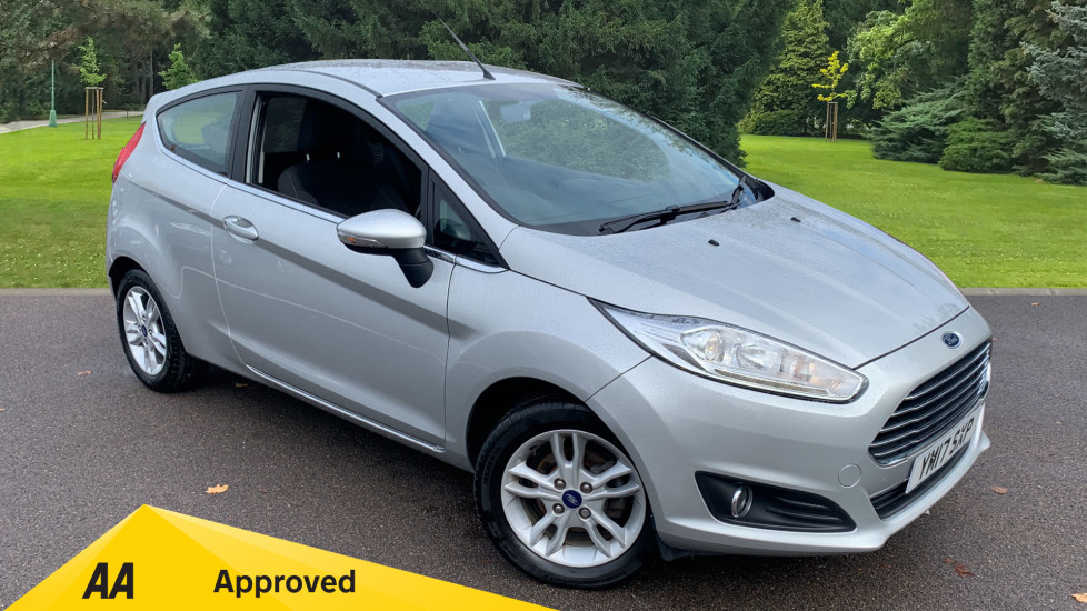 Ford Fiesta 1.0 EcoBoost Zetec 3dr Hatchback (2017) available from Mazda Northampton Motors thumbnail image