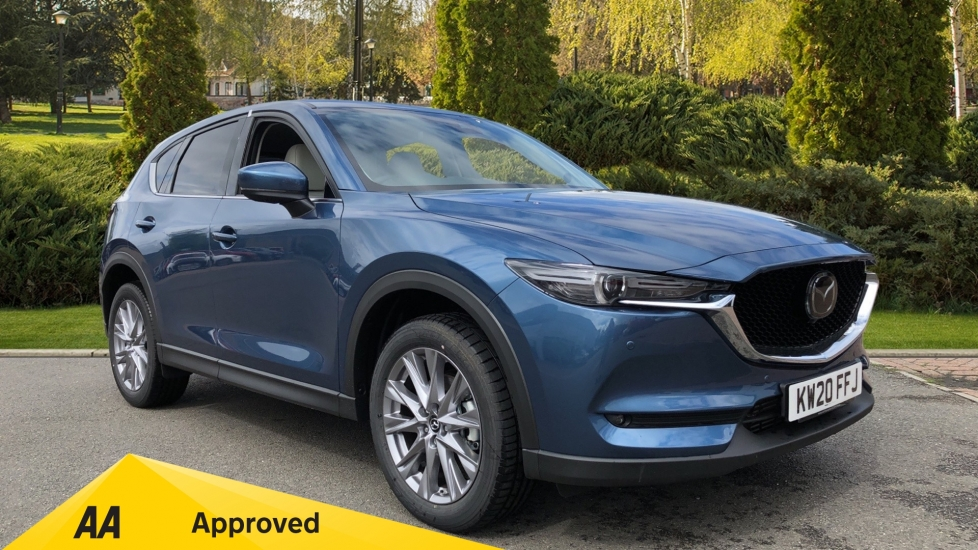 Mazda CX-5 2.2d Sport Nav+ [Safety Pack] Diesel Automatic 5 door Estate image