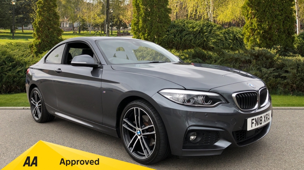 BMW 2 Series 220d xDrive M Sport 2dr [Nav] Step 2.0 Diesel Automatic Coupe (2018)