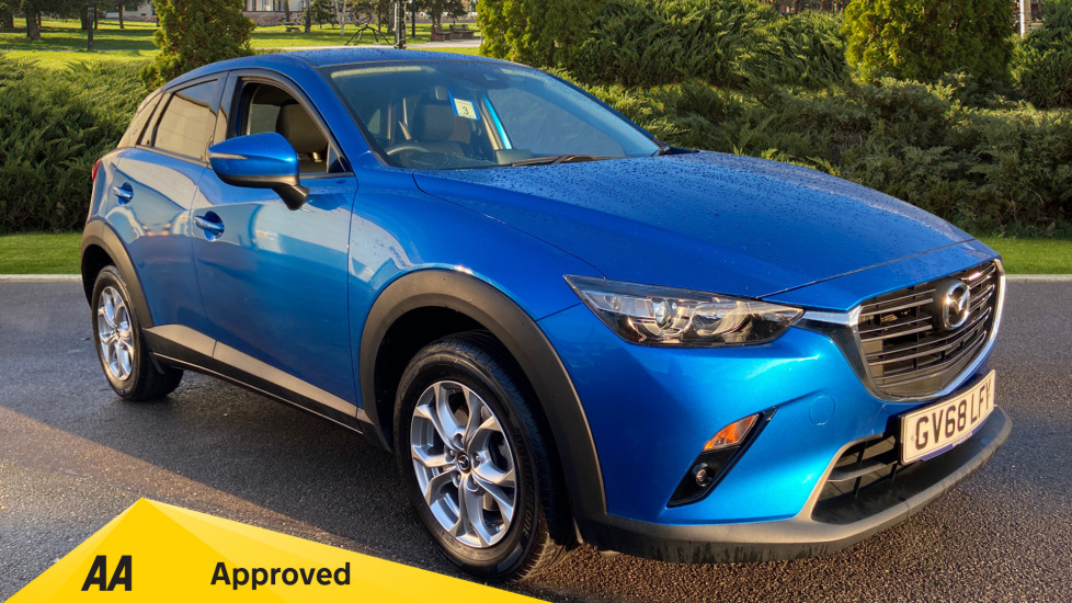 Mazda CX-3 2.0 SE-L Nav + Automatic 5 door Hatchback (2018) at Mazda Northampton Motors thumbnail image