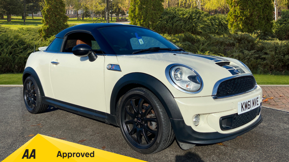 Mini Coupe 1.6 Cooper S 3dr Automatic 2 door Coupe (2011)