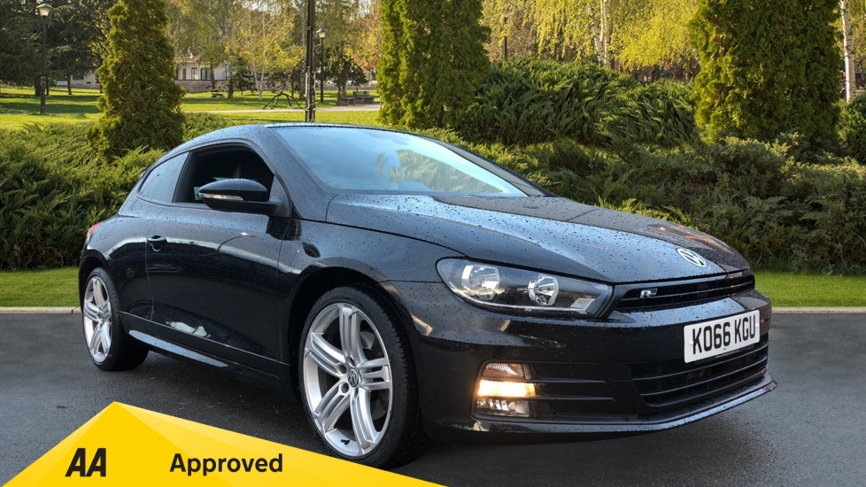 Volkswagen Scirocco 2.0 TSI 180 BlueMotion Tech R Line 3dr Diesel Automatic 2 door Coupe (2017)