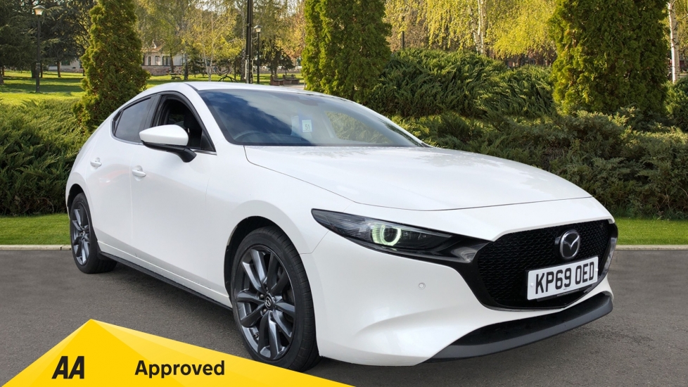 Mazda 3 2.0 Skyactiv-G MHEV Sport Lux 5dr Automatic Hatchback (2019)