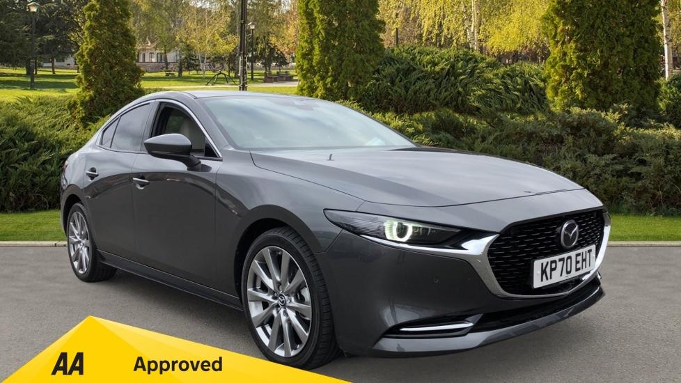 Mazda 3 2.0 Skyactiv-X MHEV GT Sport Automatic 4 door Saloon (2020) image