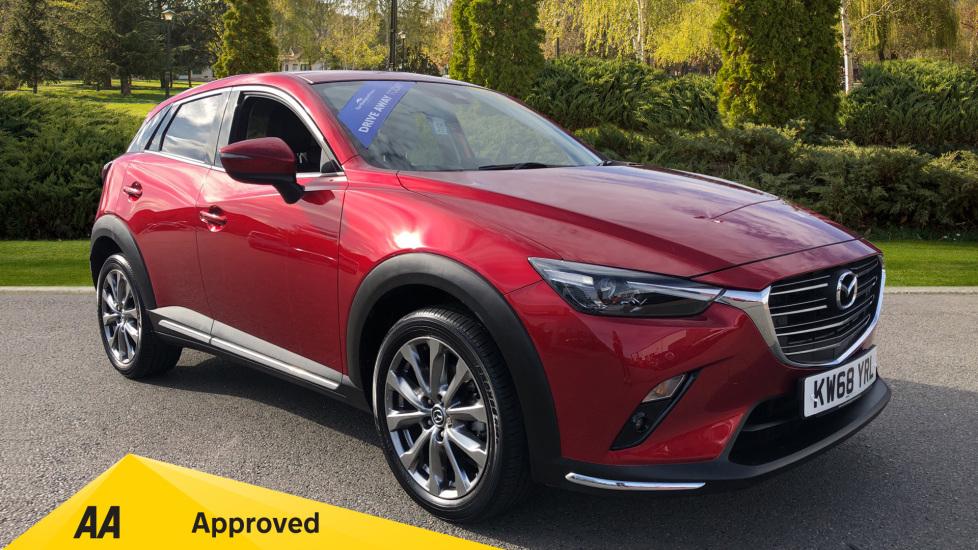 Mazda CX-3 1.8d Sport Nav + 5dr Diesel Hatchback (2018) image