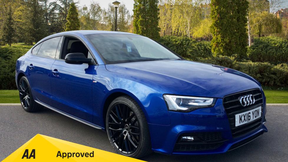 Audi A5 2.0 TDI 190 Black Ed Plus Multitronic [5st] Diesel Automatic 5 door Hatchback (2016) image