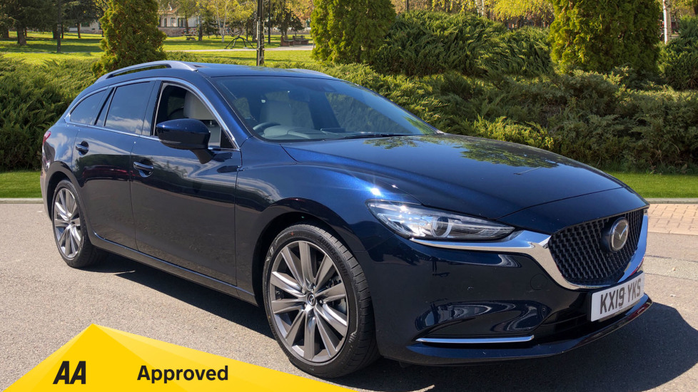 Mazda 6 2.2d GT Sport Nav+ 5dr Diesel Automatic Estate (2019) image