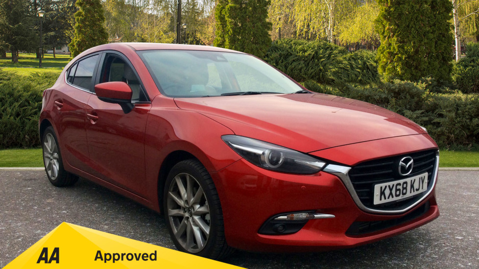 Mazda 3 2.2d Sport Nav Diesel Automatic 5 door Hatchback (2018) at Mazda Northampton Motors thumbnail image