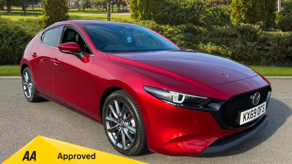 Mazda 3 2.0 Skyactiv-G MHEV GT Sport Tech Automatic 5 door Hatchback (2019) image