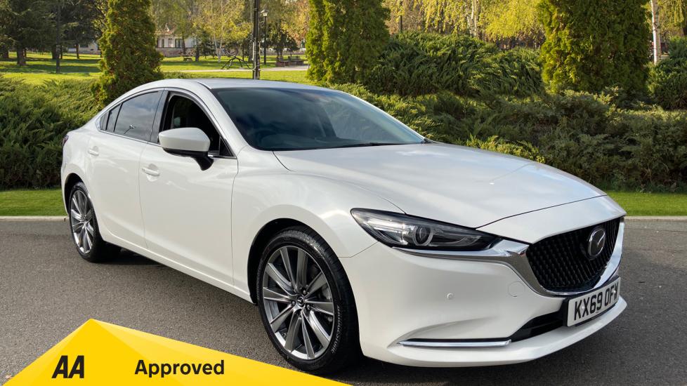 Mazda 6 2.2d Sport Nav+ 4dr Diesel 5 door Saloon (2019) image