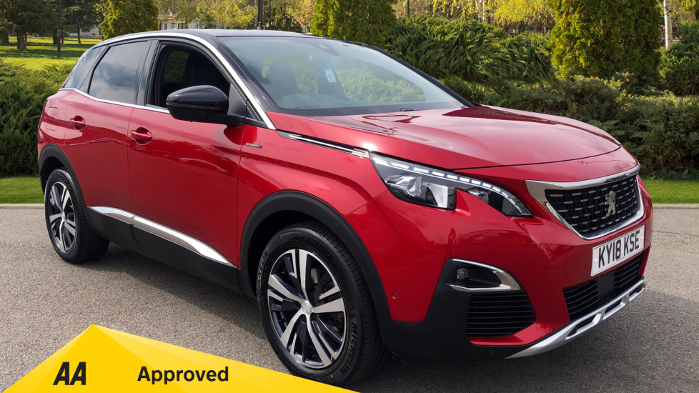 Peugeot 3008 1.2 Puretech GT Line 5dr Estate (2018) available from Ford Croydon thumbnail image