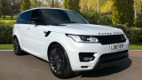 LAND ROVER RANGE ROVER SPORT SDV6 HSE DYNAMIC ESTATE, DIESEL, in WHITE, 2017 - image 0