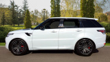 LAND ROVER RANGE ROVER SPORT SDV6 HSE DYNAMIC ESTATE, DIESEL, in WHITE, 2017 - image 4