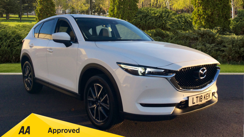 Mazda CX-5 2.0 Sport Nav 5dr Estate (2018) at Mazda Northampton Motors thumbnail image